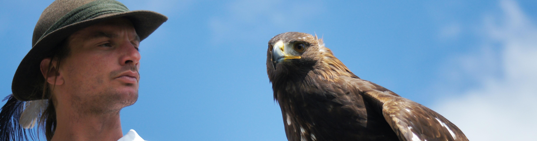 Falkner und Adler