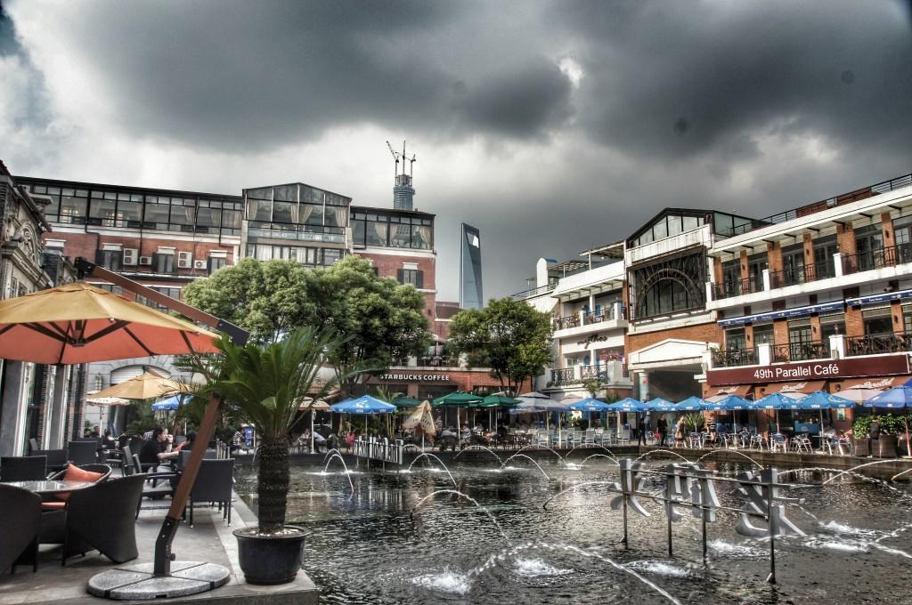 Mit HDR und Drama von Snapseed: Cool Docks in Shanghai