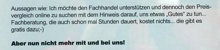 """Wolfgang's Digital- und Fotoladen"" ""Wolfgang's Digital- und Fotoladen"" in Krefeld schließt wegen Internet."