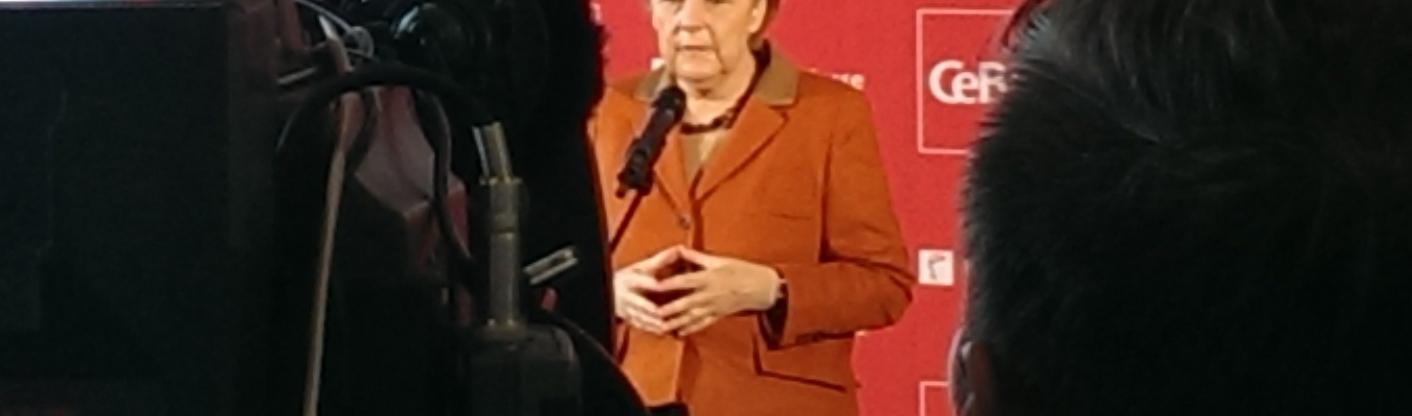 Merkelraute auf der CeBIT