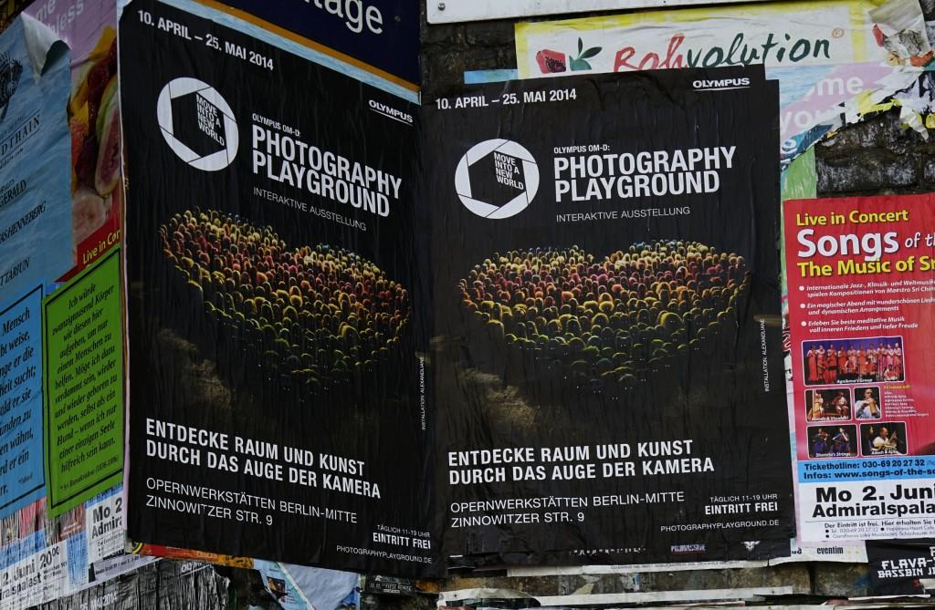 Mit Sony alpha 7R fotografiert: Werbung für Olympus