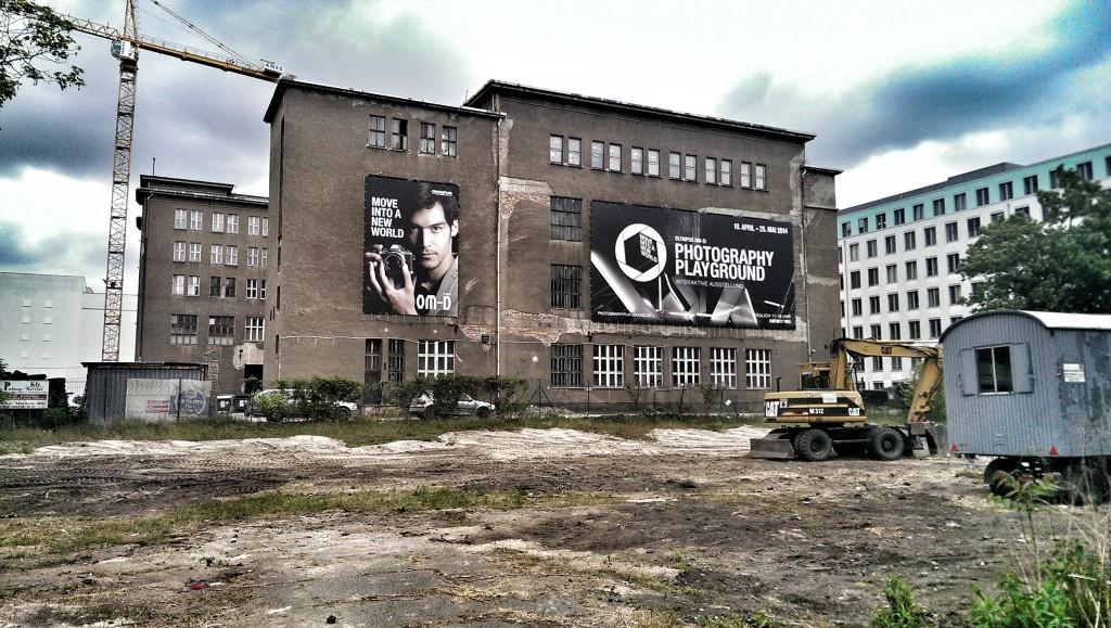 Die Opernwerkstätten mit dem Photography Playground, Handyfoto HTC one