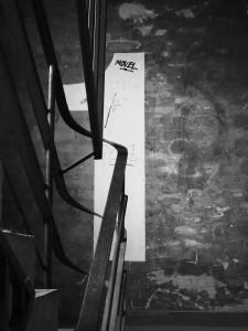 Im malerischen Treppenhaus