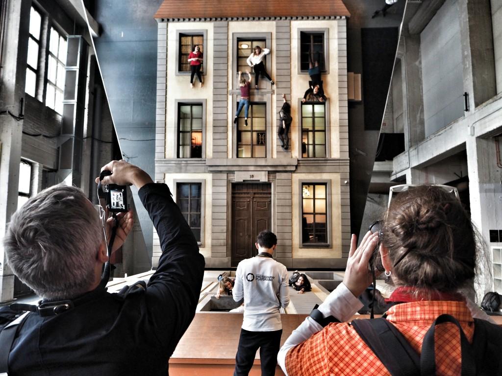 Spektakulär: der Fassadenspiegel