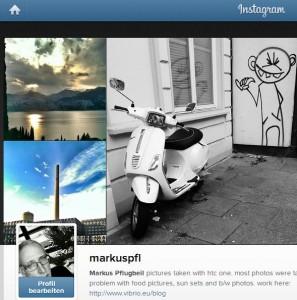 Ich auf Instagram