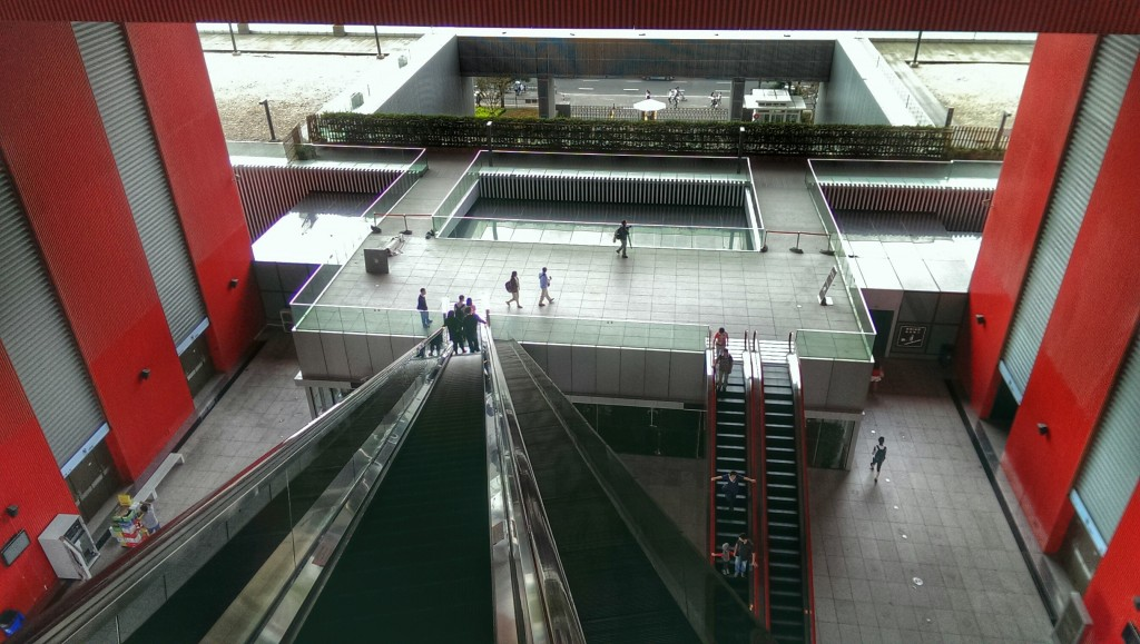 Der Großteil der Ausstellungen liegt 30 Meter über der Erde