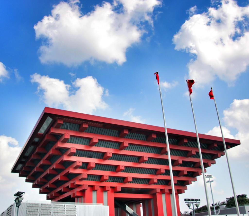 China Expo Pavillon in Shanghai