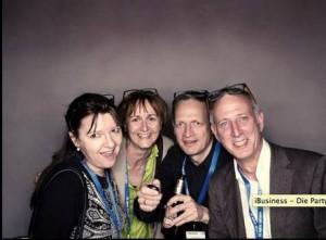 Letztes Jahr schon ein Erfolg: Fotojiffy auf der #party22 mit  Doris Schuppe, Renate Eck und Wolfgang Miedl