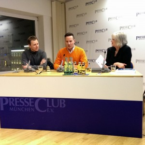 Richard Gutjahr auf dem Münchner Bloggerstammtischt