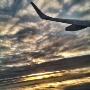 Über den Wolken - nach Zürich