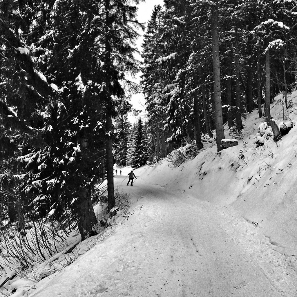 26.12.: Endlich etwas Schnee, Rodel noch nicht gut