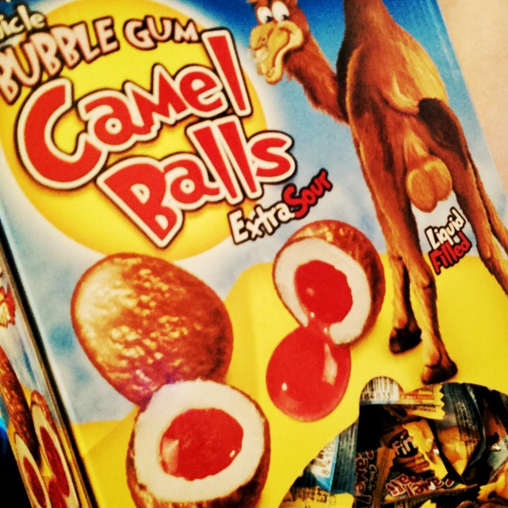 Camel-Balls: beeindruckend, was sich die Süßwarenindustrie alles traut.