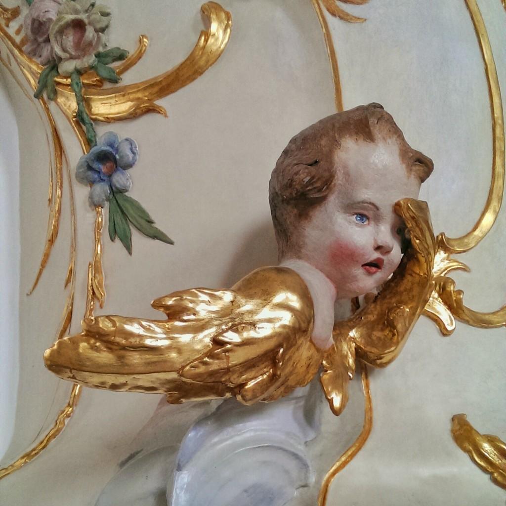 Engel an der Kanzel