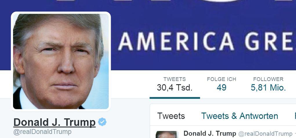 Donald Trump bringt es, unageachtet der Inhalte, auf xx Millionen Follower auf Twitter. Ob bei ihm Langtexte funktionieren würden?