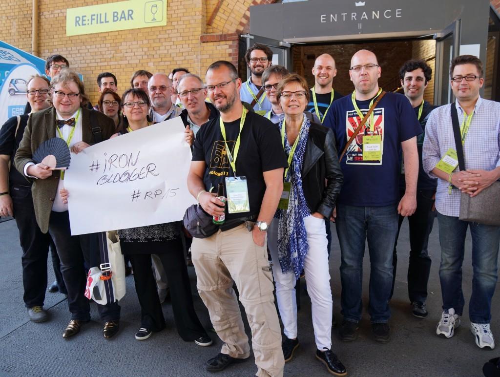 Deutschland, deine Ironblogger: Auf der re:publica 2015.