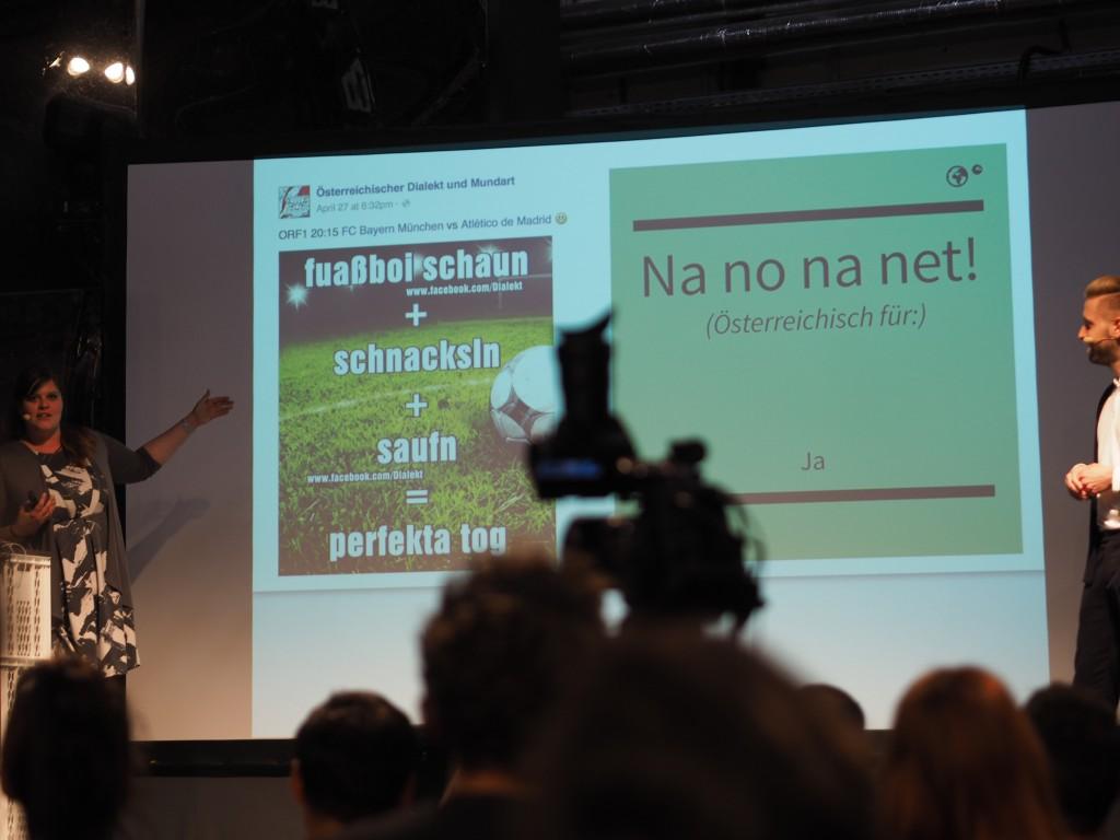 Shitstorm auf österreichisch: viel gelernt, viel gelacht. Olles leiwand, oida.