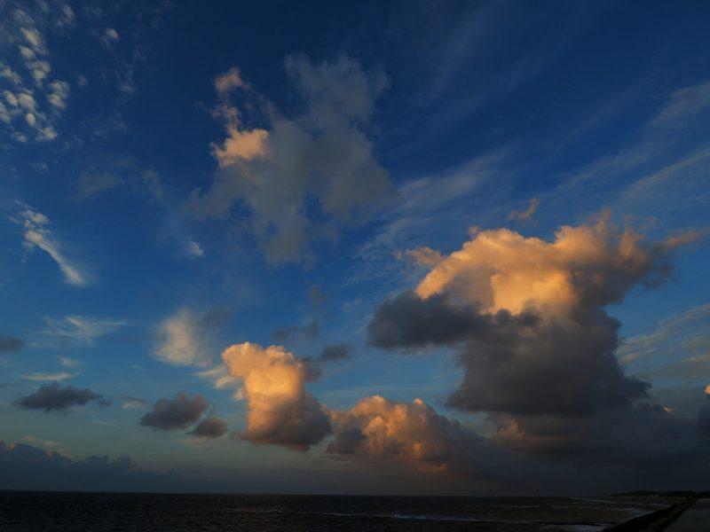 Baltrum, Ostfriesland, Sonnenuntergang