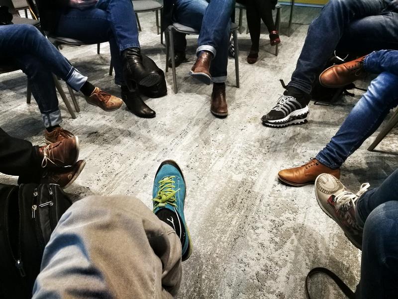 So vielfältig wie die Schuhmode der Session-Teilnehmer: WordPress Themes auf dem Barcamp München.