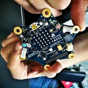 Calliope Mini: ein Minicomputer der Schüler und Lehrer an das Programmieren heranführen soll, eine Privatinitiative.