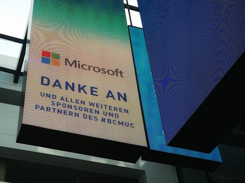 Danke an alle. Es hat sich gelohnt, Barcamp München.