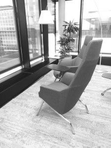 Mehr Lounge als Büro, das #officemitwindows in München von Microsoft.