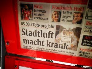 Abendzeitung München, Stadtluft macht krank