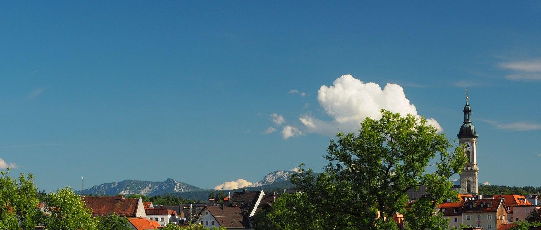 Traunstein, Blick