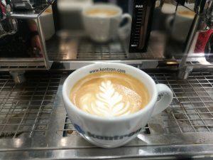 Kaffee am Messestand