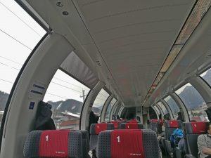 Panoramawagen der Schweizer Eisenbahn