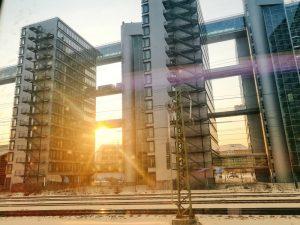 Gebäude am Ostbahnhof München