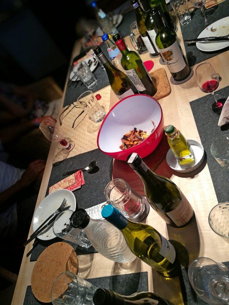 Keine Weinprobe ohne Essen