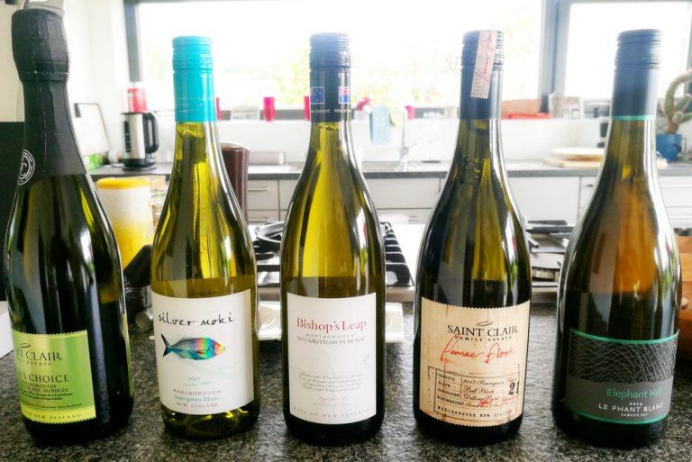 Weinprobe Neuseeland Sauvignon-Blanc