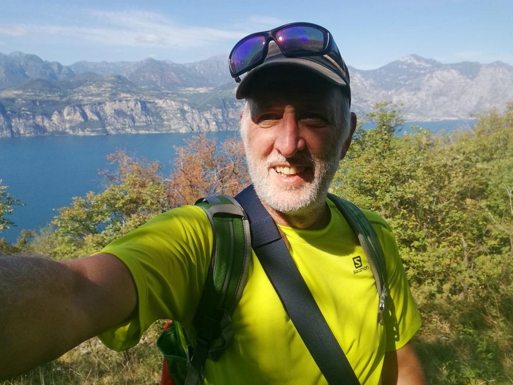 Eine schöne Wanderung für die ersten Herbsttage am Gardasee. Wo es schattig wurde, war das Shirt aber zu wenig.
