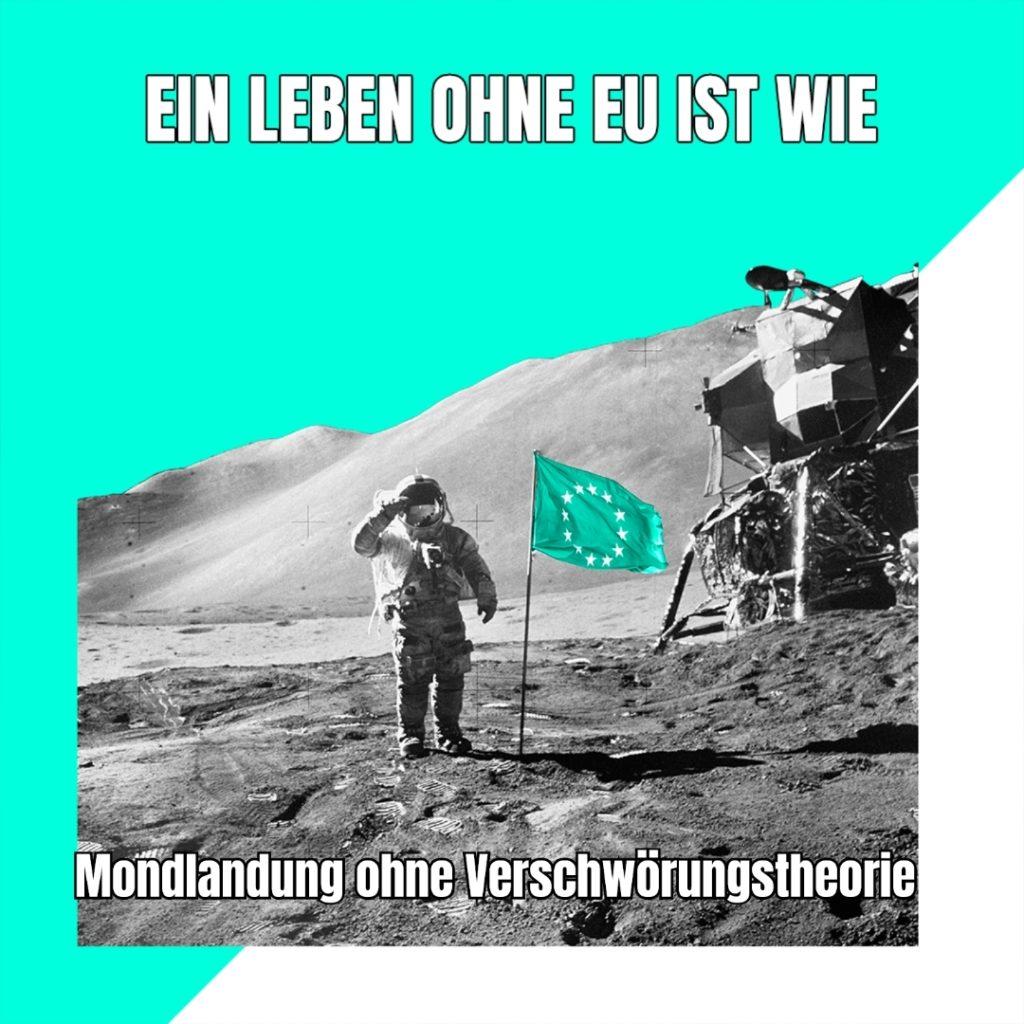 Eigene EU Memes unter https://operation-goetterfunken.de selbst produzieren.