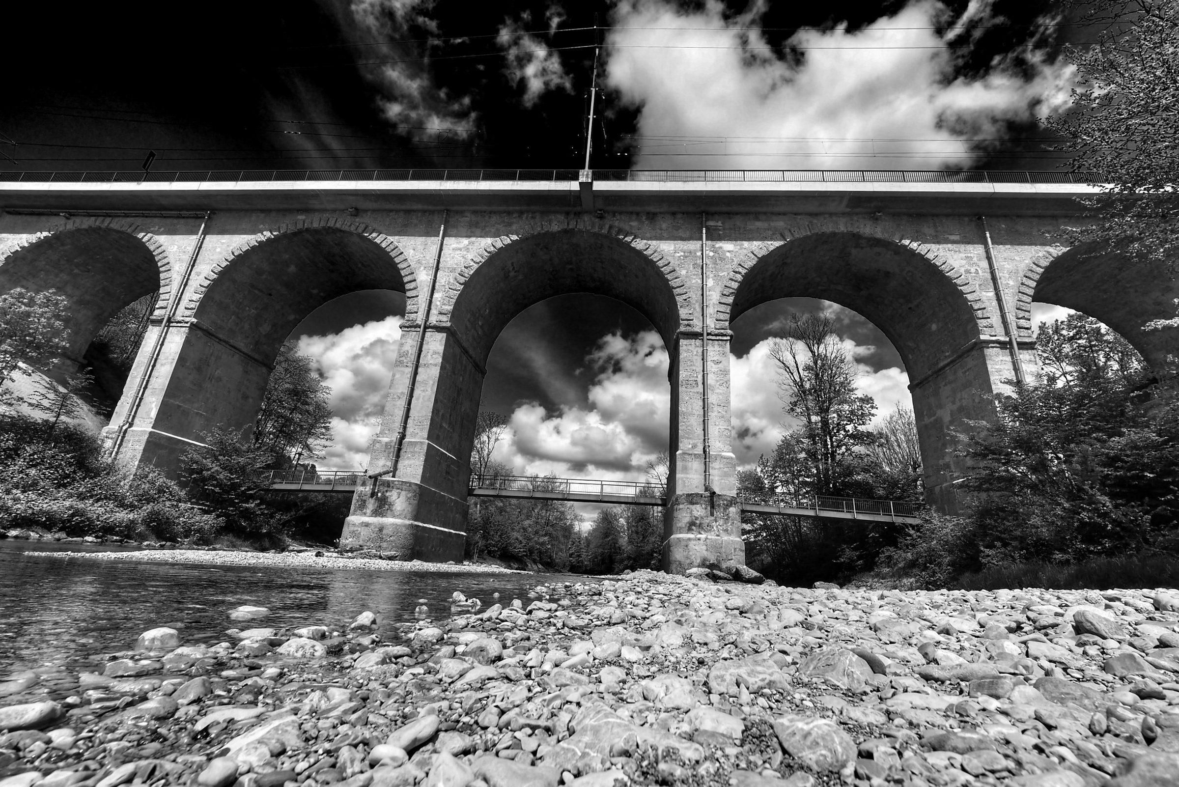 Traunstein Viadukt sw