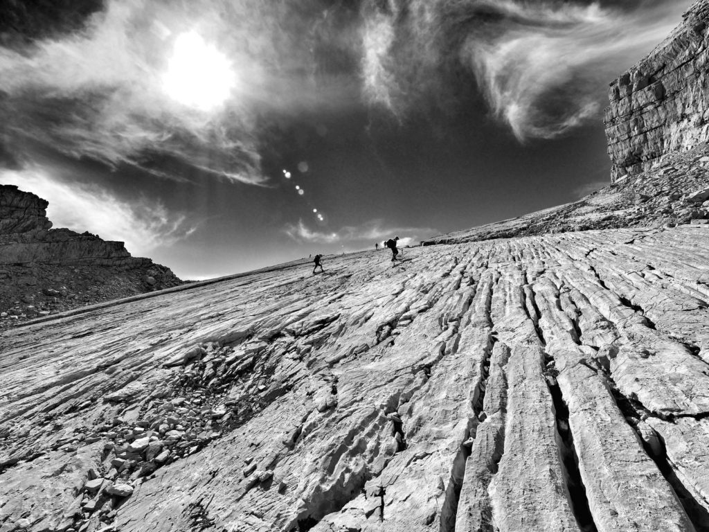 Gipfelplatte des dritten Watzmannkinds.